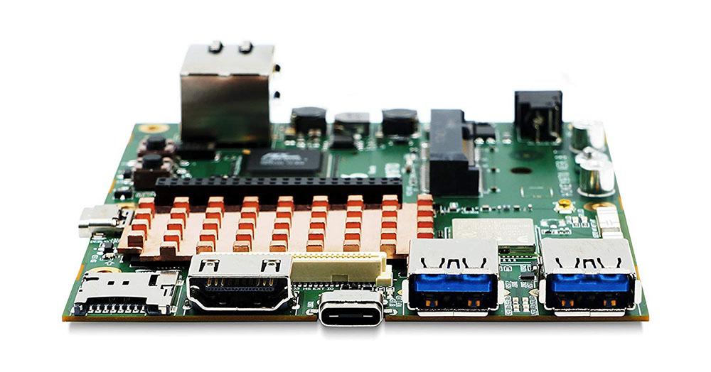 HiKey 970 - вид слева